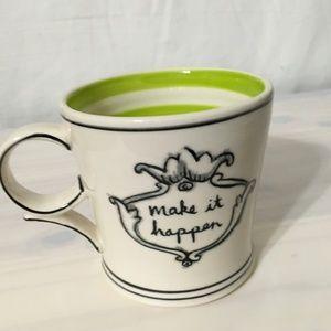 Anthropologie Dining - Anthropologie Molly Hatch Make it Happen Mug